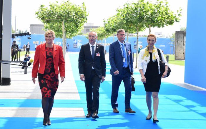 Predsjednica Grabar Kitarović uvjerena da će čelnici NATO-a doći do konsenzusa o zajedničkim ciljevima