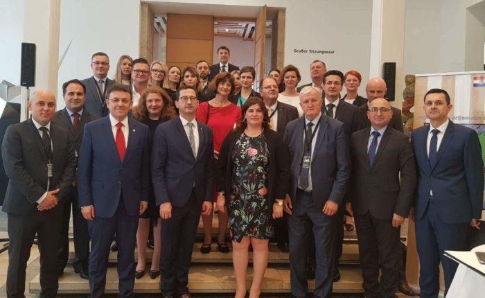 Župan Vukovarsko-srijemske županije Božo Galić prisustvovao 11. Međunarodnom dunavskom festivalu u Ulmu