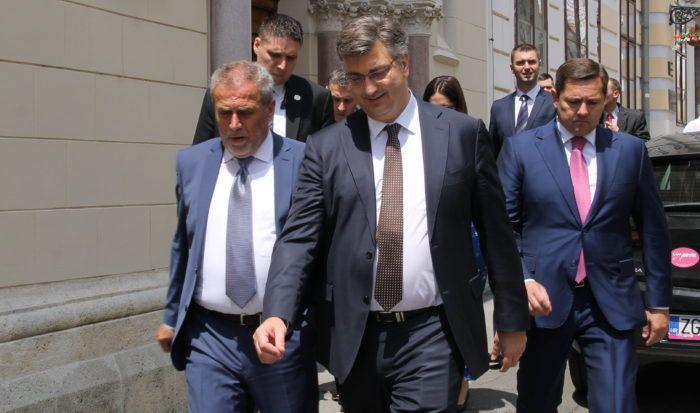 Premijer i šef HDZ-a Plenković: Očekujem daljnju raspravu o najboljim i održivim rješenjima iz mirovinske i druge faze porezne reforme