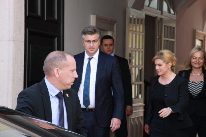 """""""SJEDNICA VIJEĆA ZA DEMOGRAFIJU"""" Predsjednica Grabar-Kitarović: Potrebna sinergija svih dijelova društva u rješavanju problema demografije"""