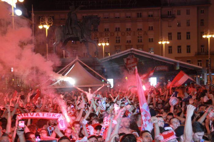 Zagreb gori!!! Hrvatska u finalu svjetskog prvenstva!!!