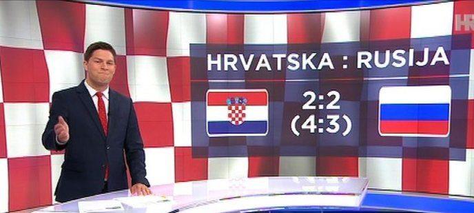 HRT: Utakmicu Hrvatska – Rusija pratilo gotovo dva milijuna gledatelja