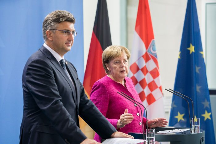 Merkel hvali Hrvatsku zbog zaštite europskih granica i podupire ulazak u šengensku zonu