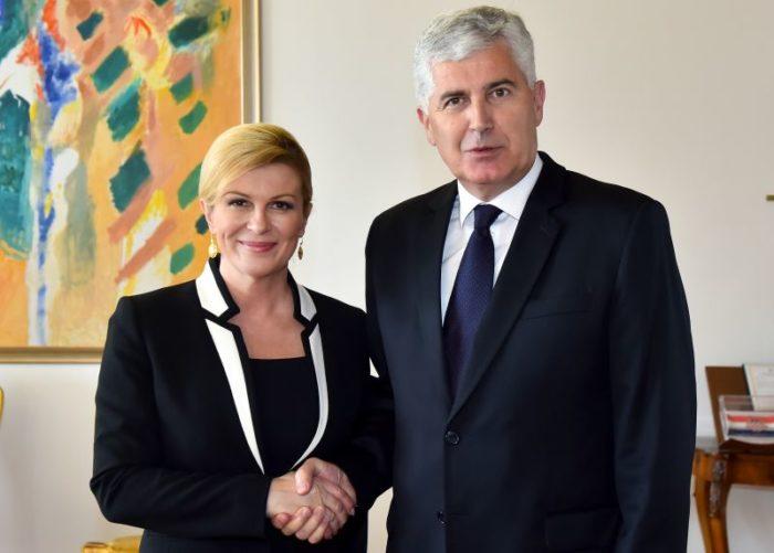 Predsjednica Grabar-Kitarović pozvala hrvatske tvrtke da investiraju u BiH