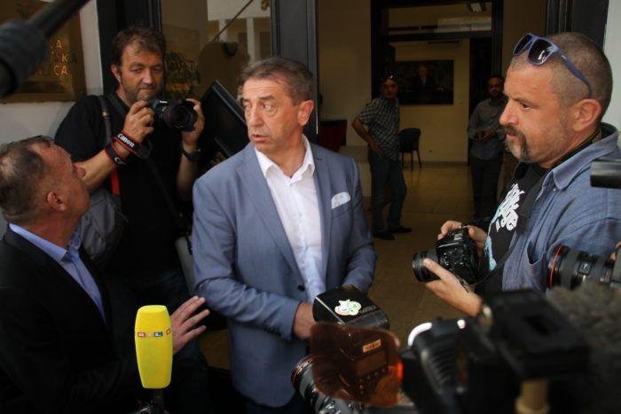 """""""Okupacija sjedišta HDZ-a"""" Milinović: """"Naša misija je uspjela, dobili smo jamstvo da će izbori biti 9. rujna, imamo izbore"""""""