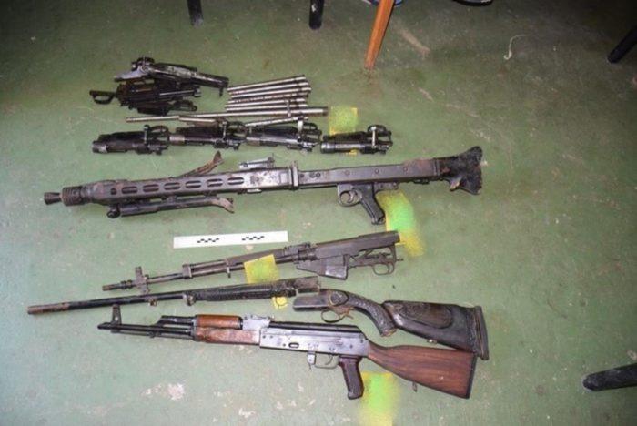 Nastavkom akcije Policija pronašla hrpu ilegalnog oružja u Slavoniji