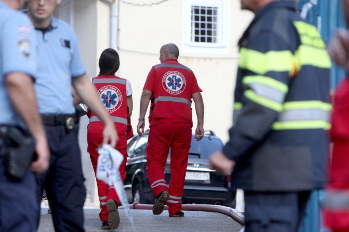 Svi evakuirani iz Lopače zbrinuti, teže ozlijeđeni u požaru zadržani u riječkom KBC-u