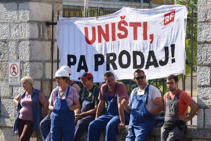 Sindikati: Ostajemo u štrajku do ispunjenja zahtjeva, a Vlada mora odlučiti želi li brodogradnju