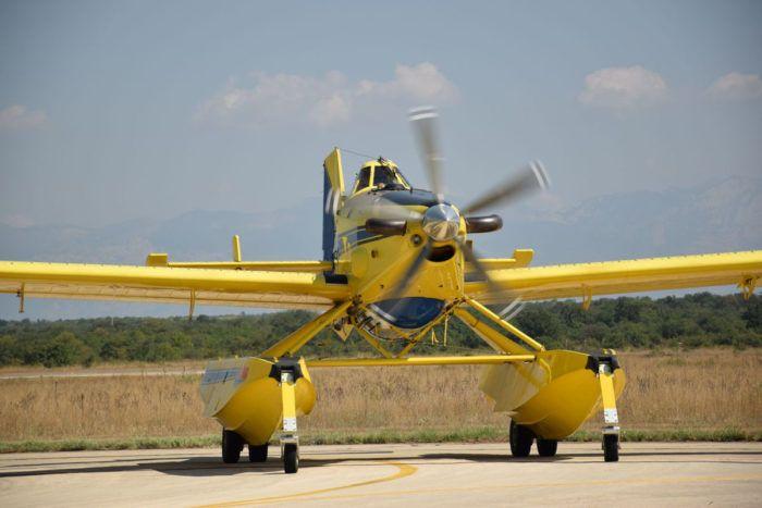 MORH: Airtractor gasi požar na otoku Ugljanu