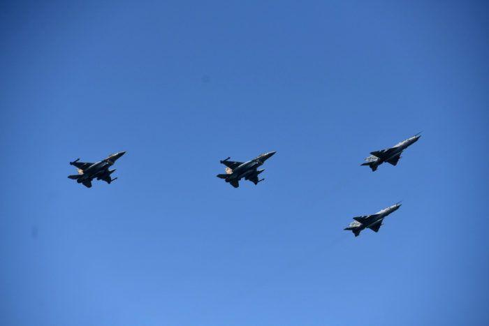 Izraelski F-16 iznad Knina za obljetnicu 'Oluje'