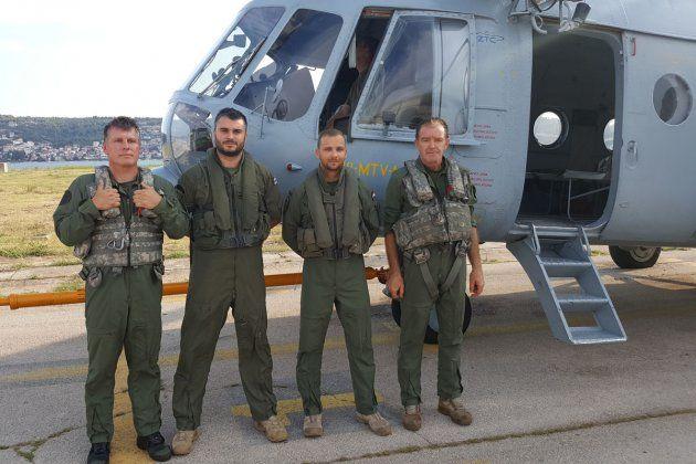 Helikopter HRZ-a sudjelovao u spašavanju ozlijeđenoga planinara na Biokovu