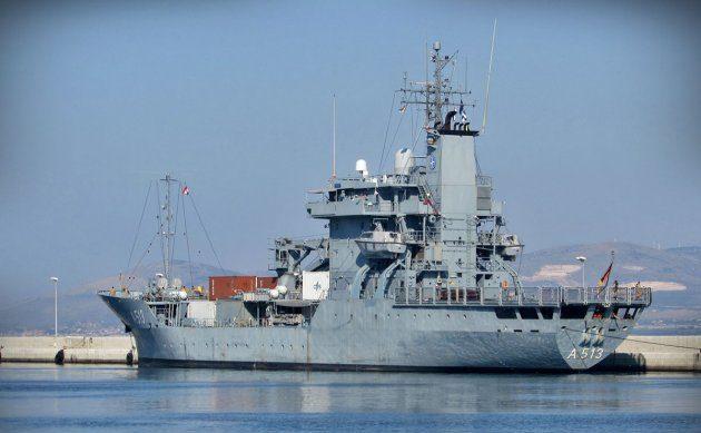 """U posjet Splitu i HRM doplovio njemački ratni brod """"FGS Rhein """""""