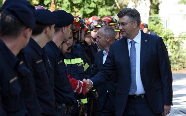 Plenković: Ove godine 98 posto manje opožarenoga područja u Hrvatskoj nego lani