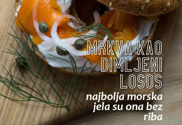 Prijatelji životinja objavili novu kuharicu s 14 recepata i poručuju: Najbolja morska jela su ona bez riba!