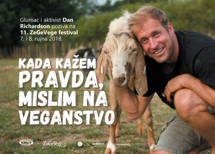 Britanski glumac Dan Richardson na ZeGeVege festivalu