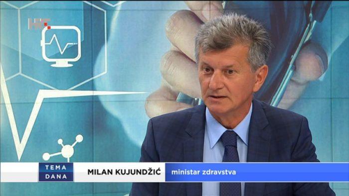 Ministar Kujundžić u Temi dana: Pripremamo izmjene sustava hitne medicinske pomoći