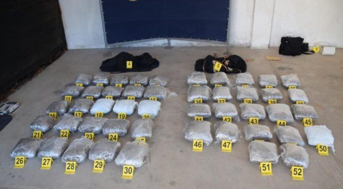 Zadarska policija zaplijenila preko 53 kilograma marihuane