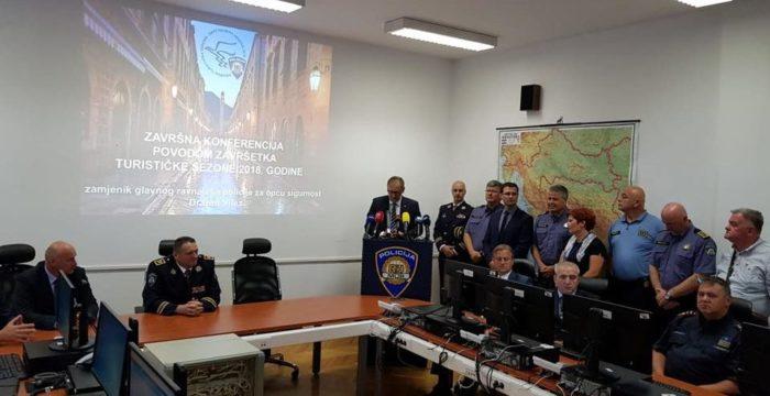 Božinović: Turistička sezona u sigurnosnom smislu bila je više nego povoljna