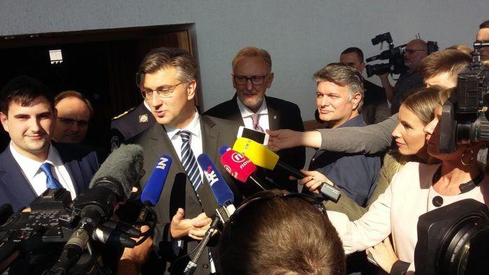Premijer i šef HDZ-a Plenković: Poštujem institucije i odluku Povjerenstva