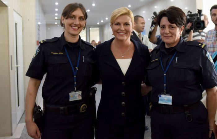 Čestitka Predsjednice Grabar-Kitarović u povodu Dana policije i blagdana svetog Mihaela