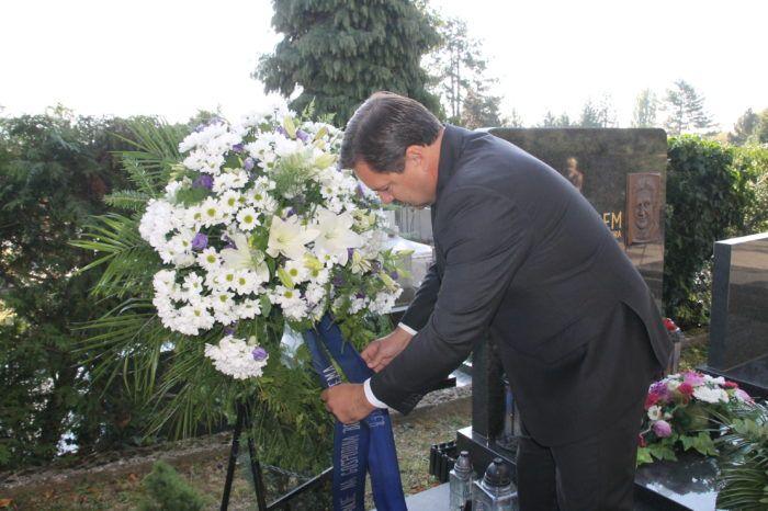 Andrija Mikulić: Danas je prilika da se prisjetimo i odamo počast gospodinu Borisu Špremu predsjedniku Gradske skupštine koji se pamti po jednostavnosti
