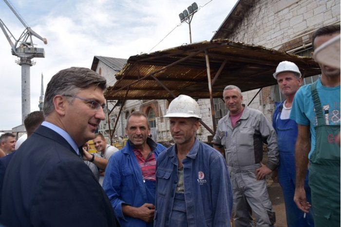 Premijer i šef HDZ-a Plenković i ministri u Uljaniku