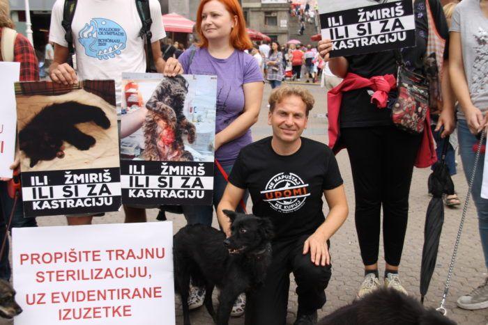 Mreža za zaštitu životinja javnim okupljanjem pozvala na provedbu Zakona o zaštiti životinja