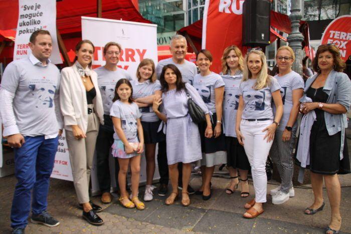 Održana tradicionalna humanitarna prodaja majica za 19. Terry Fox Run