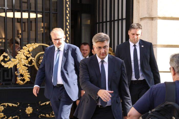 Plenković 'čestitao' Hajdašu Dončiću: Prvi ste potpredsjednik Sabora koji je suspendiran u vlastitoj stranci