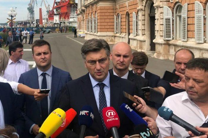 Plenković: Tražimo rješenje za Uljanik, danas plaće za kolovoz
