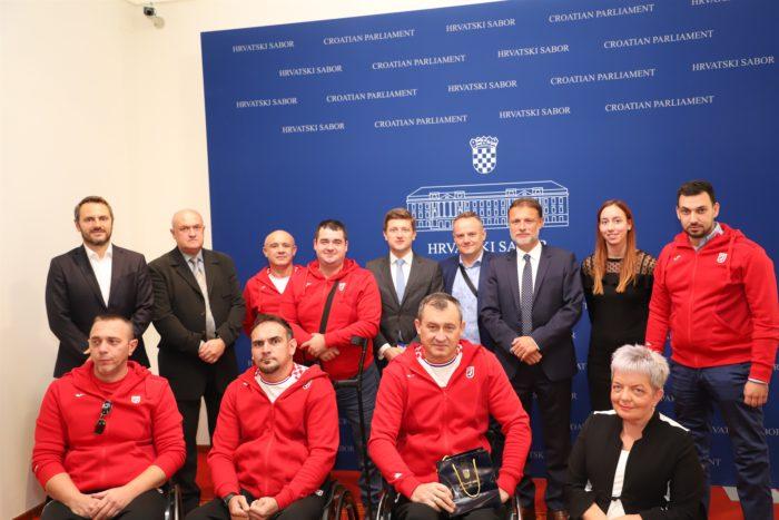 Predsjednik Sabora Jandroković: Podržavamo sve aktivnosti sportaša s invaliditetom