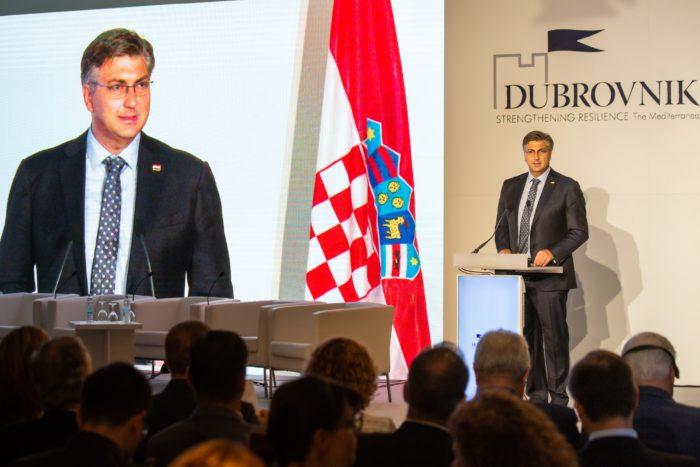 """Premijer Andrej Plenković otvorio 13. Dubrovnik forum """"Jačanje otpornosti – Mediteran, Europa i Zapadni Balkan"""""""