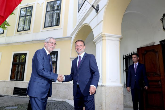 Predsjednik Sabora Jandroković primio austrijskog predsjednika Van der Bellena
