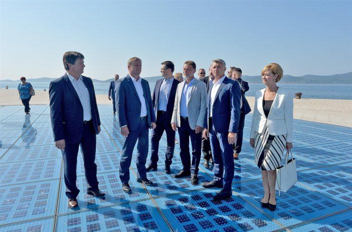 Predsjednik Sabora Jandroković: Zadar je grad koji se kvalitetno razvija i brine o mladima
