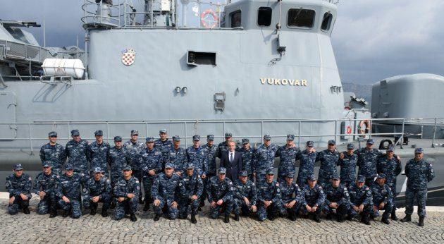 """Raketna topovnjača """"Vukovar"""" vratila se iz NATO-ove operacije """"Sea Guardian"""""""