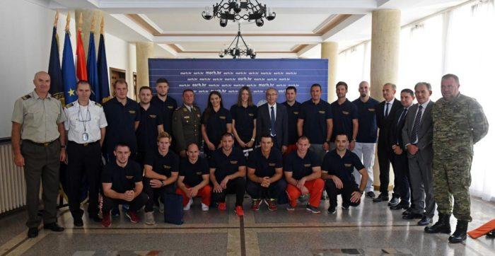 Krstičević: Ponosni smo na naše vrhunske sportaše pričuvnike Hrvatske vojske