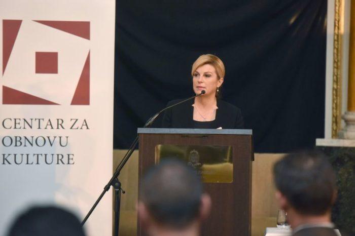 Predsjednica Grabar-Kitarović: Hrvatska može postati snažnim energetskim čvorištem cijele Europe