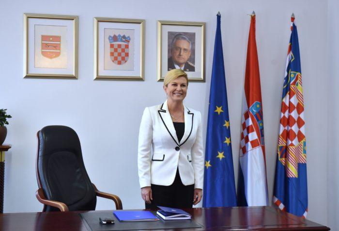 Otvoren privremeni Ured predsjednice Republike Grabar-Kitarović u Virovitičko-podravskoj županiji