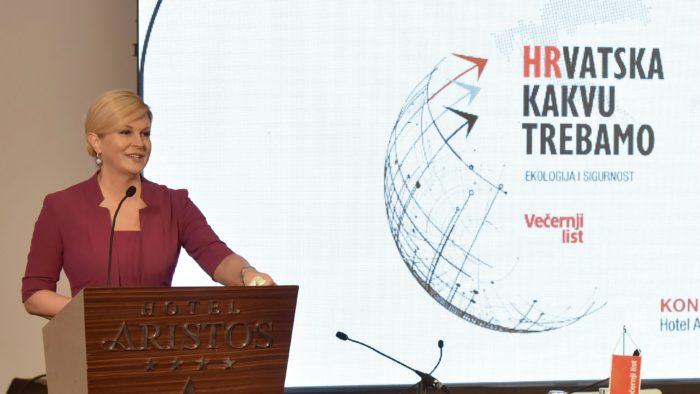 Predsjednica Grabar-Kitarović: Pitanje ekologije pitanje je opstojnosti država, ali i cijelog planeta