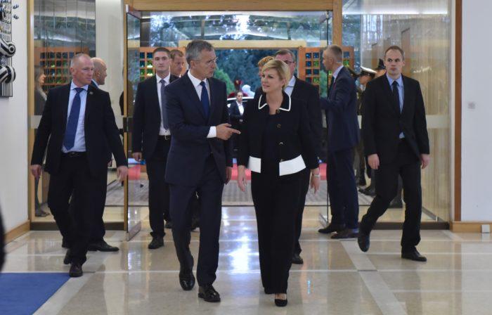 Predsjednica Grabar-Kitarović: BiH treba naše zalaganje u osiguravanju ravnopravnosti konstitutivnih naroda