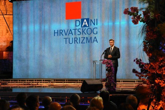 """Završnica DHT-a"" Premijer Andrej Plenković: Bez snažnog gospodarstva nema ni snažnog turizma"