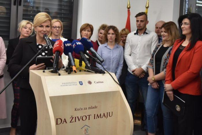 Predsjednica Grabar-Kitarović: Ulaganje u mlade znači osiguravanje budućnosti naše domovine