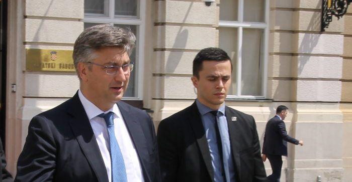 Premijer Andrej Plenković podnosni Saboru godišnje izvješće