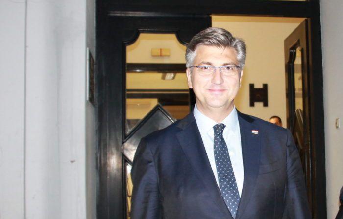Premijer i šef HDZ-a Plenković: Sve parlamentarne stranke koje su u većini daju potporu Vladi