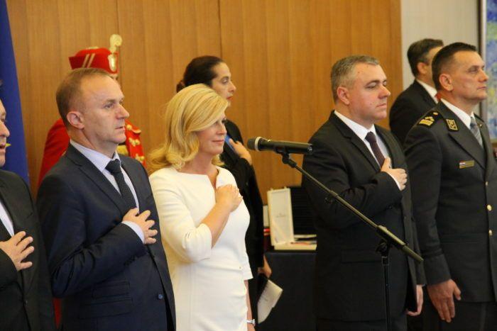 Čestitka Predsjednice Republike Kolinde Grabar Kitarović u povodu Dana neovisnosti 8. listopada