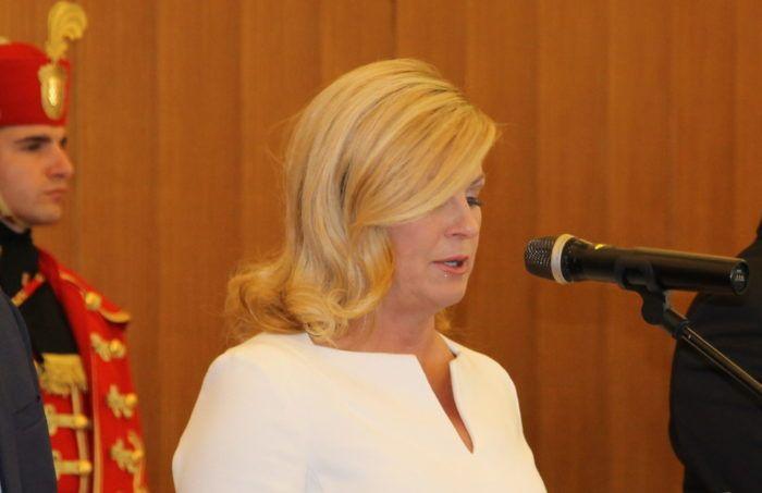 Predsjednica Grabar-Kitarović: Već postoji puno tema za Vijeće za nacionalnu sigurnost