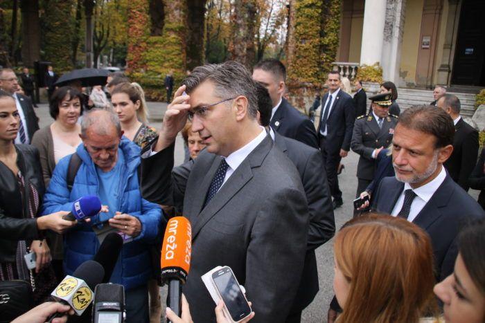 Plenković i Jandroković pozvali institucije da istraže afere do kraja