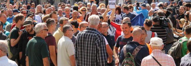 Štrajk u 3. maju: radnici traže plaće za rujan i deblokadu računa na jedan dan
