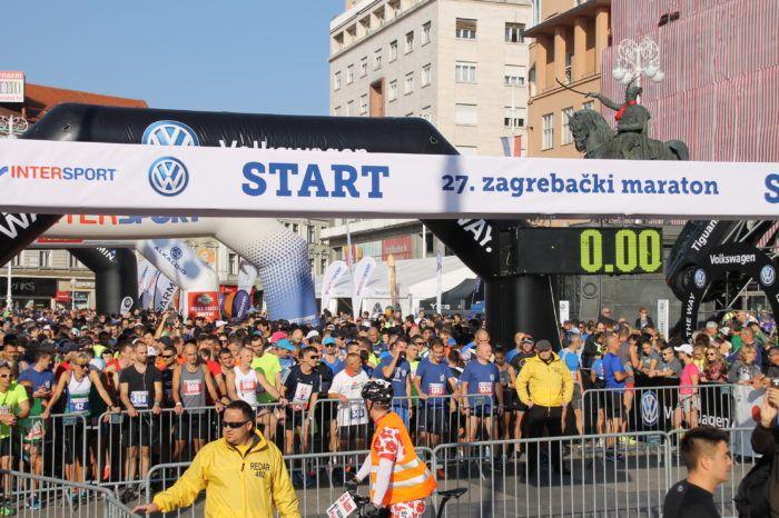 Više od 4 tisuće ljudi na 27. Zagrebačkom maratonu