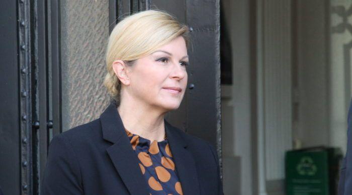 Predsjednica Grabar-Kitarović komentirala upletenost svojeg savjetnika za nacionalnu sigurnost Vlade Galića u aferu SMS